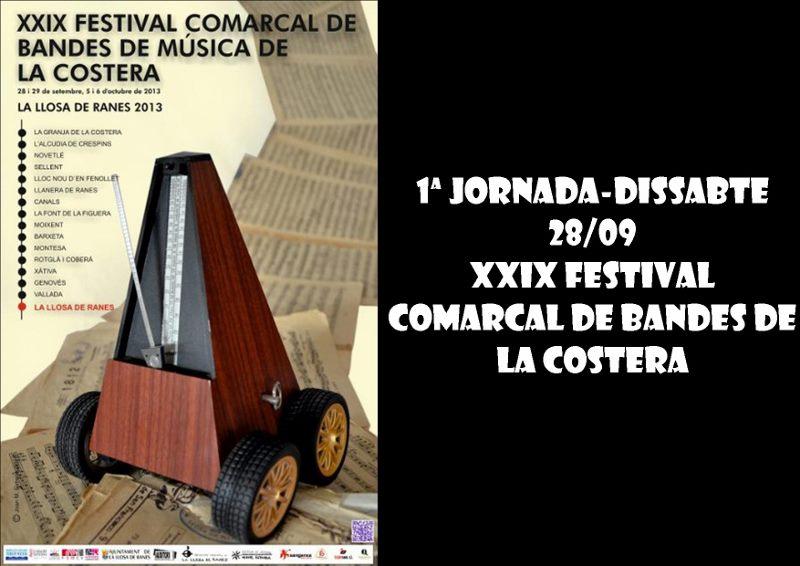 1ª Jornada-dissabte 28-09 -XXIX FESTIVAL COMARCAL DE BANDES DE LA COSTERA (800x566)