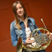 Andrea Arenas Avalos, Trompa