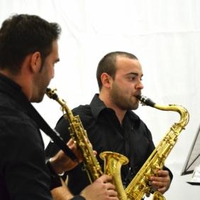 Quartet de saxos de l'AMC - Trobada de saxos a la LLosa de Ranes