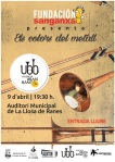 CARTELL CONCERT BRASS BAND 9 ABRIL 2016