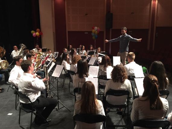 Prova acústica - Banda Jove de la Societat Musical de la LLosa de Ranes